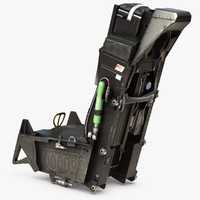 3d aces ii ejection seat model