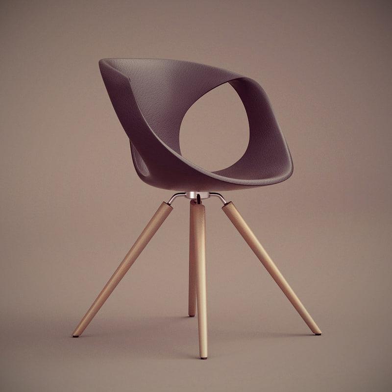 3d model tonon chair 907
