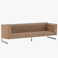 Club Viper Sofa by Sunpan Modern