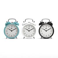 3d model vintage alarm clock