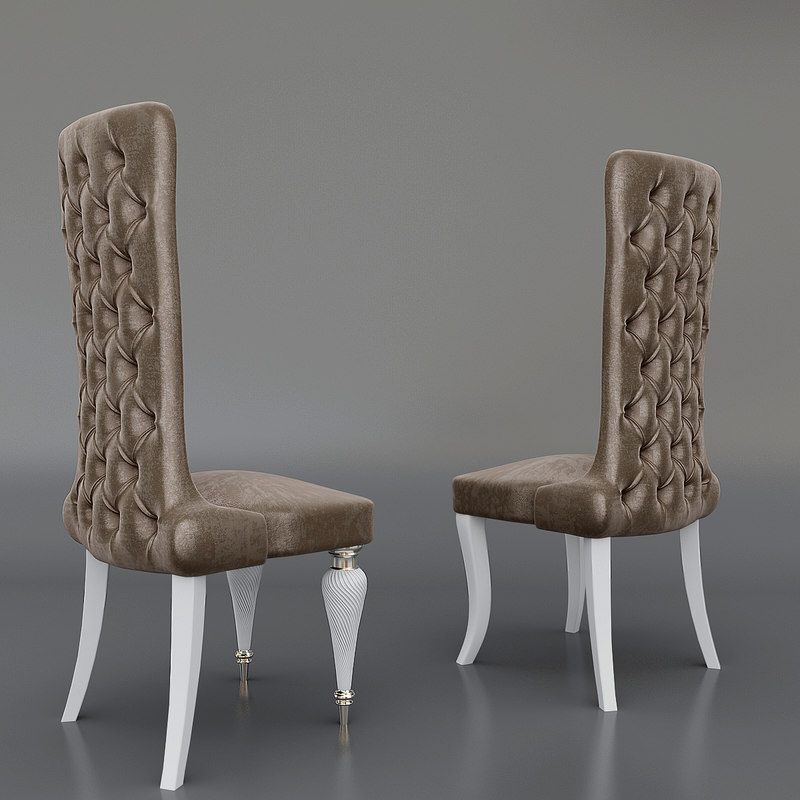 3d model clasik chair