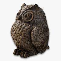 Owl Bird Statue