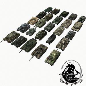 military tank 3d model