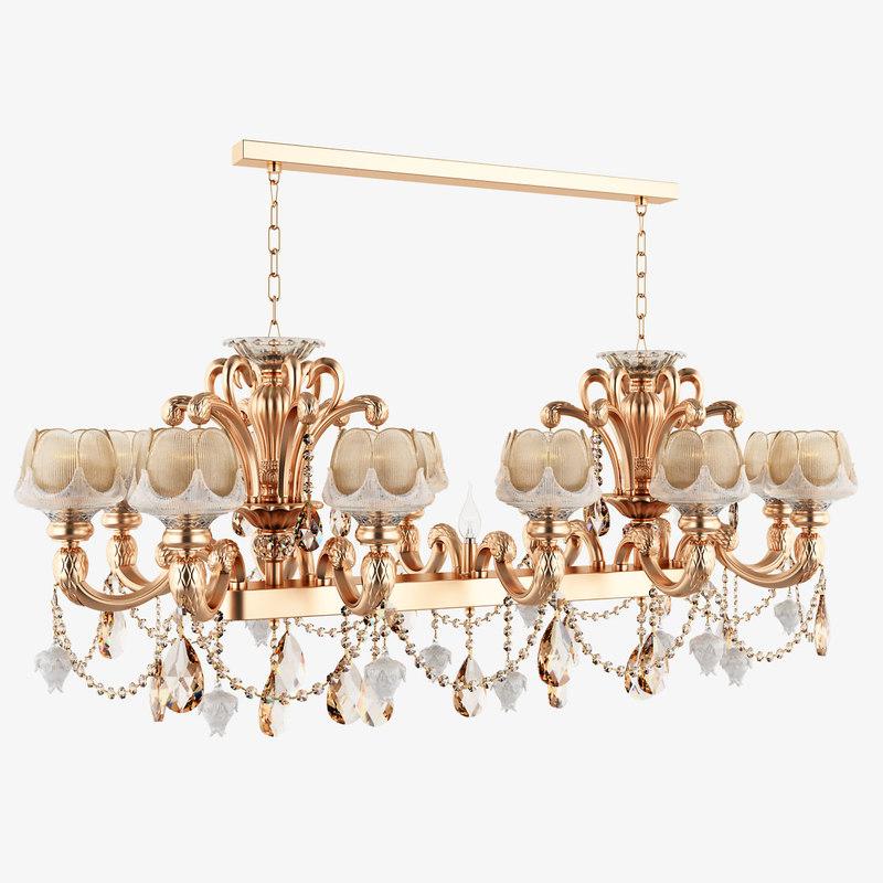 chandelier 696132 md89233 12 3d model