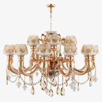 3d max chandelier 696182 md89233 12