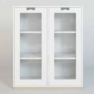 3d model cupboard asplund