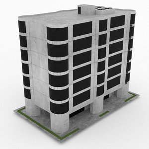 office build 28 3d max
