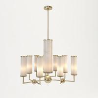 3d baker sodalite chandelier model
