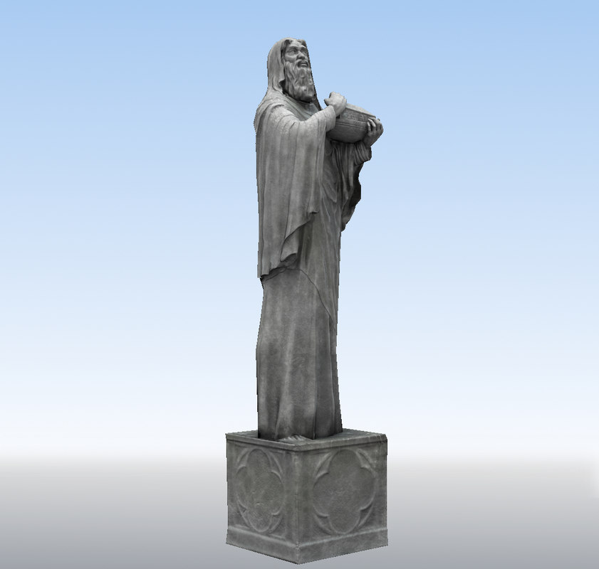 magus gives gift 3d fbx