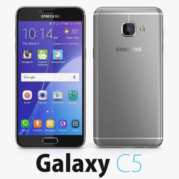samsung galaxy c5 3d max