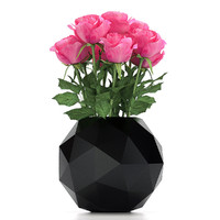 rose flower bouquet 3d max