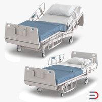 obj hospital bed set
