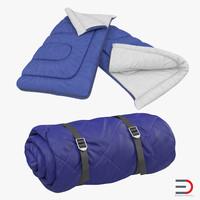 3d sleeping bags set