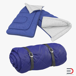 3d sleeping bags set