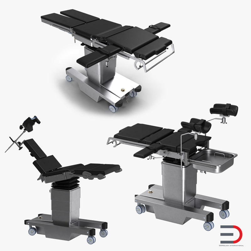 3d operating tables model