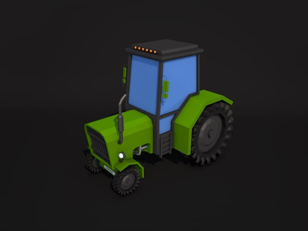 tractor 3ds