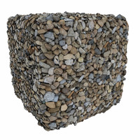 Gravel 04 -  Photogrammetry Texture
