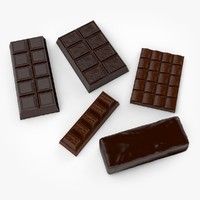 chocolate real realistic 3d max