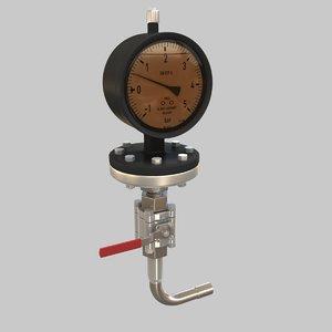 3d manometer