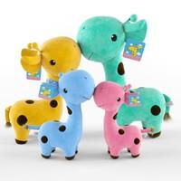 3d giraffes toys