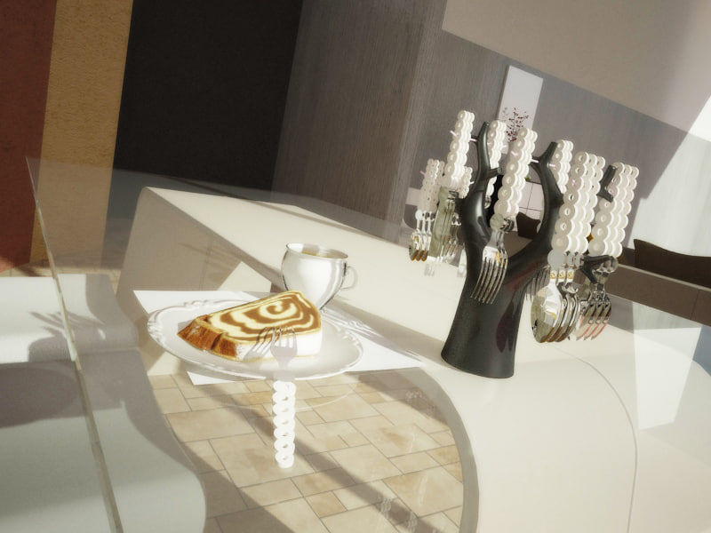 max contemporary cutlery set