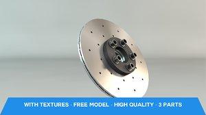 brake disc 3ds free