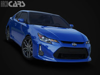 scion tc 3d max