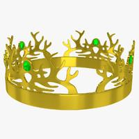 crown 1 3d model