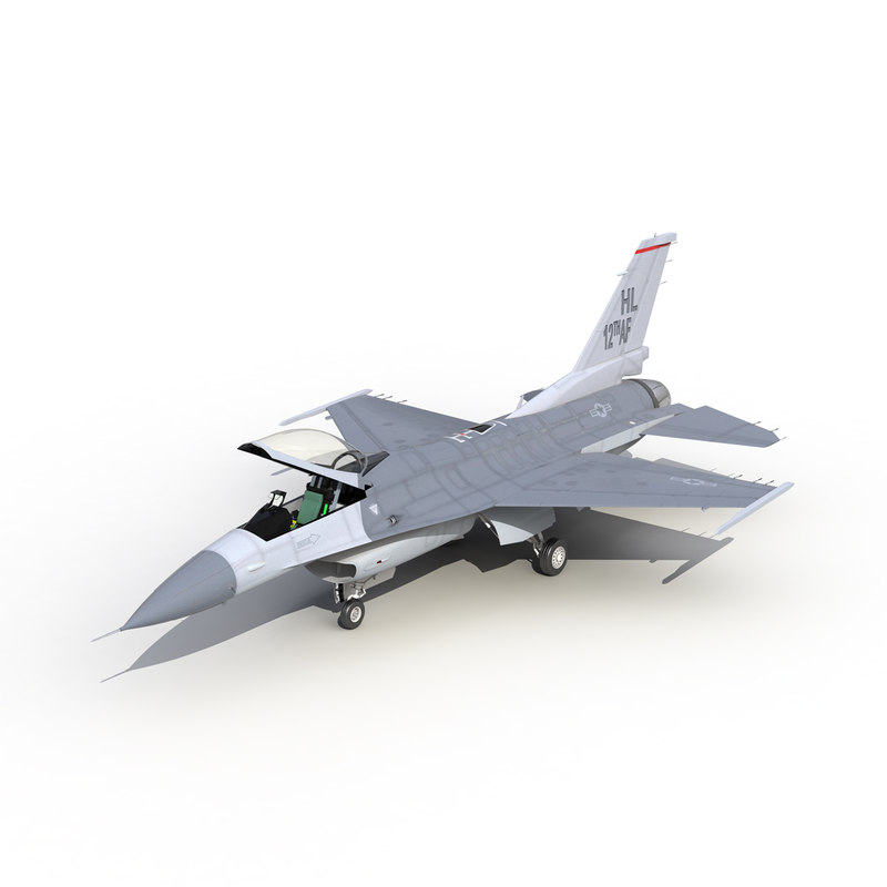 3d model fighter f 16 fighting falcon