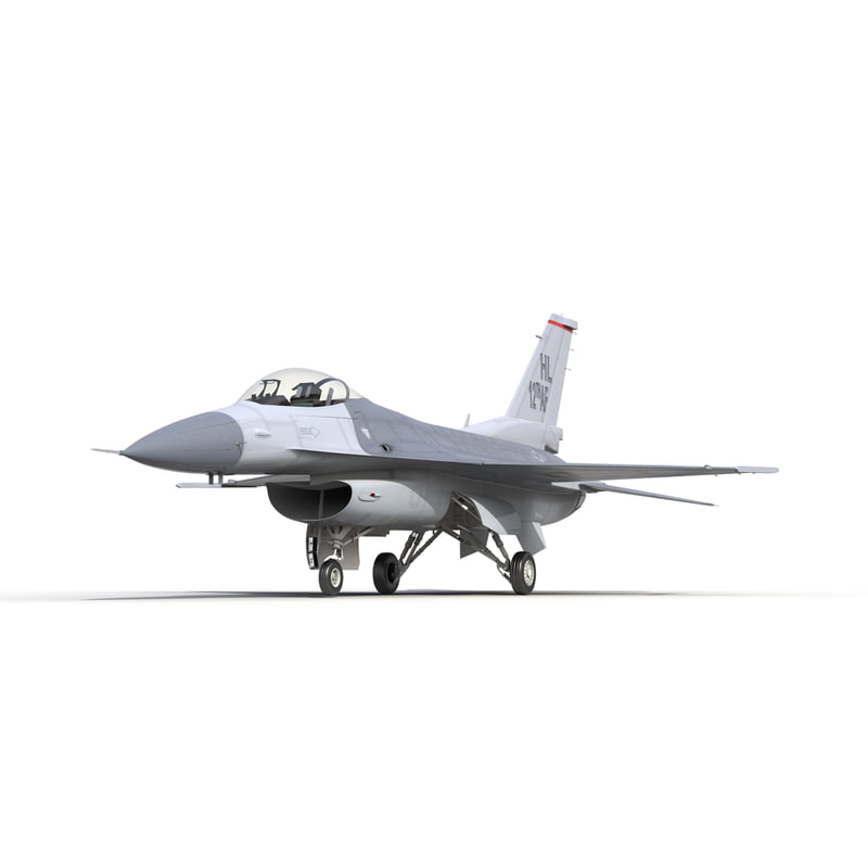 3d fighter f-16 fighting falcon