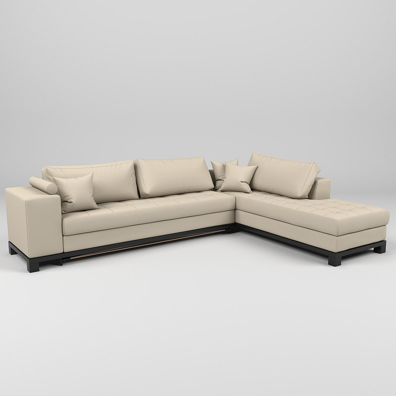 nogersund ikea sofa 3d model
