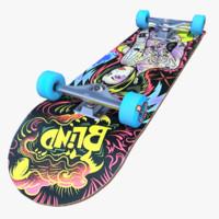 Skateboard Thunder Blind Skin Collection