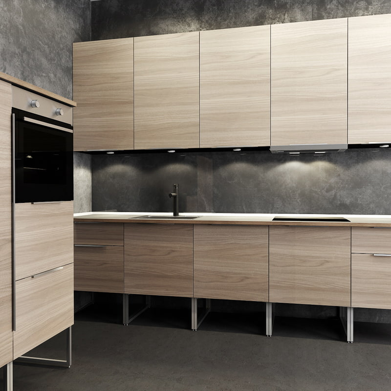 kitchen sink 3d model. Black Bedroom Furniture Sets. Home Design Ideas