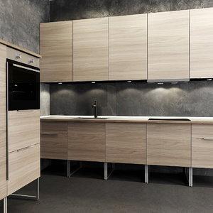 kitchen sink 3d model
