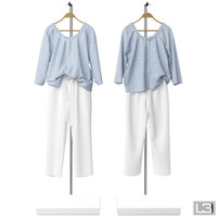 Woman Clothes on a hanger 10