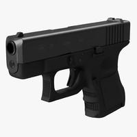 glock 26 3d model