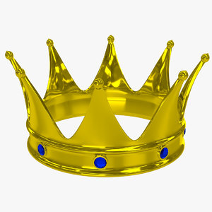 crown 2 3d obj