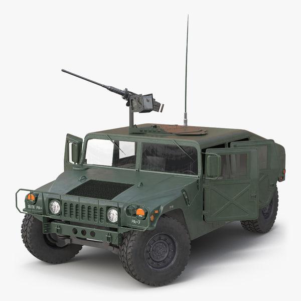 3d model mobility multipurpose wheeled vehicle