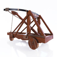 3d 3d-model catapult