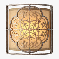 3d marcella 1 lamp wall light model