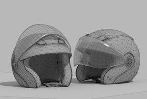 3d model helmet 18