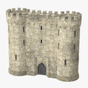 castle gate 3D models