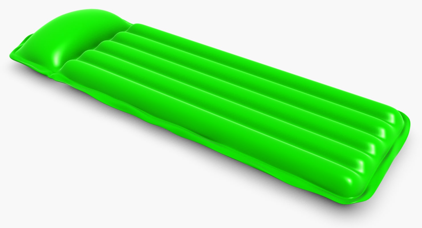 inflatable pool mattress 3d model