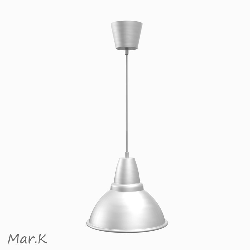 3d model of hanging lamp al