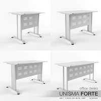 office desks unisma forte max