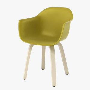 magis substance chair 3d max