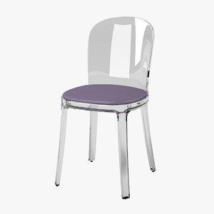 magis vanity chair 3d model