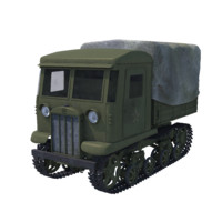 medium stalinets ww2 3d obj