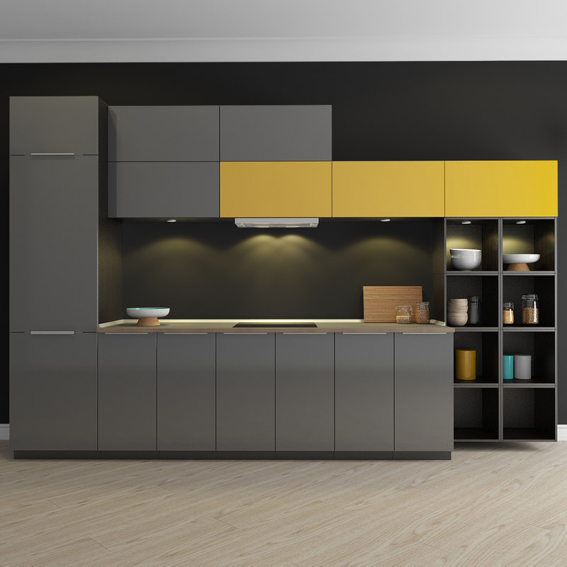 Kitchen ringhult 3d max for Cuisine 3d max