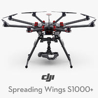 DJI Spreading Wings S1000+